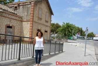 estación ferrocarril Cynthia García