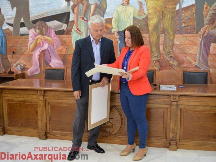 Rincón de la Victoria homenajea a su primer pediatra, Eduardo Lamas Zapata