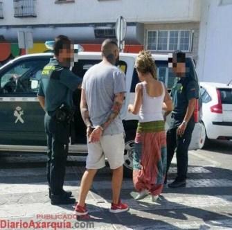 Entrega Detenidos a Guardia Civil Torrox - 5 junio