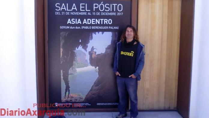 Pablo Berenguer: «Soy artista plástico y viajero cuando puedo»