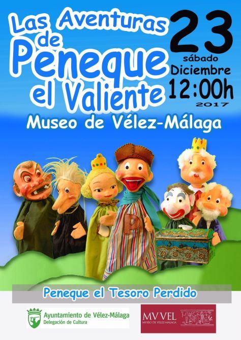 La compañía de títeres 'Peneque el Valiente' visita el Museo de Vélez-Málaga