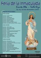 Fiestas en honor a la Virgen de la Inmaculada Concepción en Valle-Niza