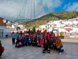 Clausurada la campaña de senderismo 'Caminando por la Vida', entre Almachar y El Borge