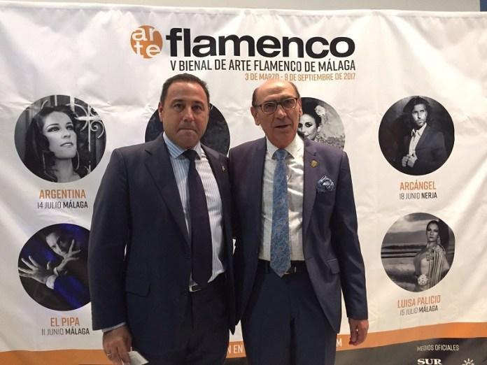 Ricardo Sánchez y Antonio Cruz.