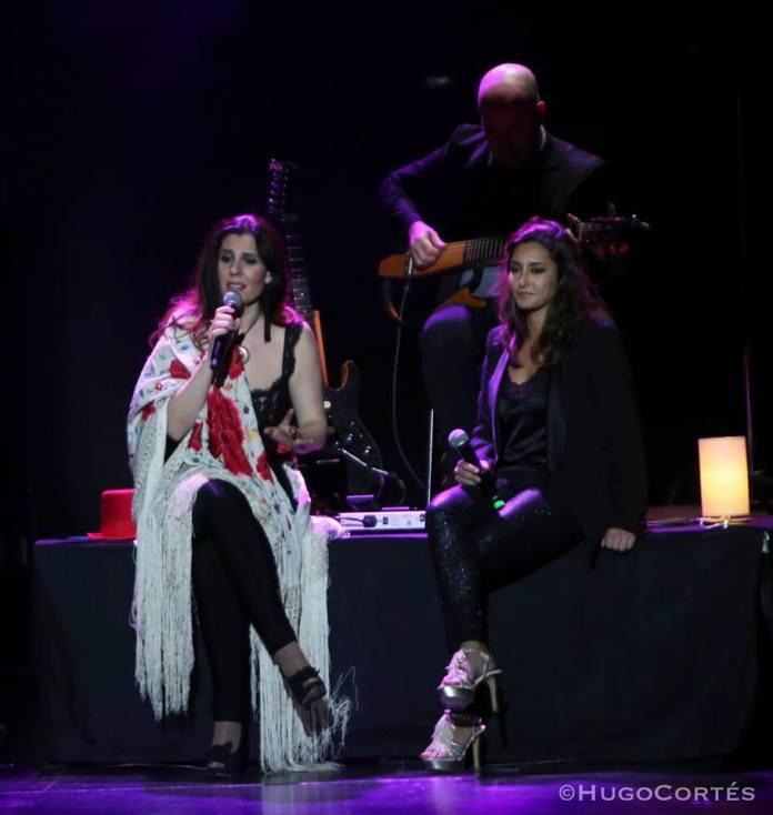 La cantante veleña Teresa Alba comparte escenario con Diana Navarro en el Teatro Cervantes