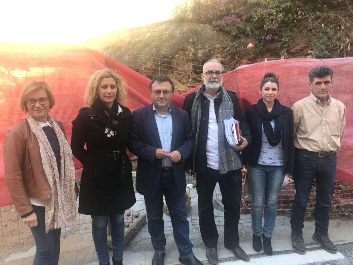 El PSOE pide al Gobierno que aclare hasta cuándo habrá que esperar para reiniciar las obras de la depuradora de Nerja