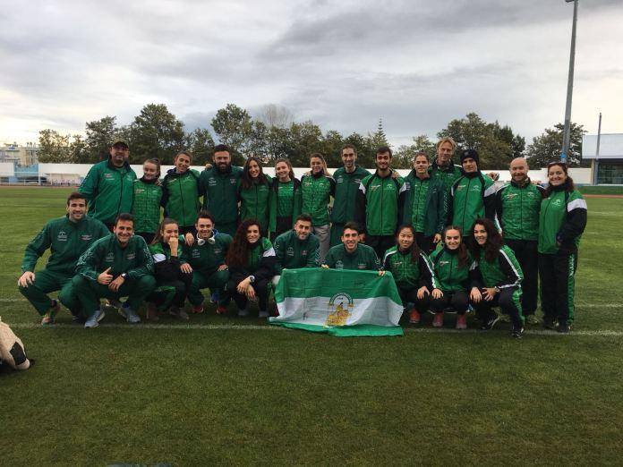 Nerja contribuye al éxito de la Selección Andaluza de atletismo en Portugal