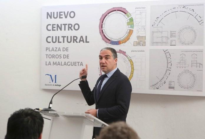 La Diputación inicia la rehabilitación de la plaza de toros de La Malagueta para convertirla en un nuevo foco cultural