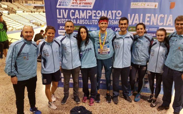 Nerja vuelve a teñir de celeste un Campeonato de España