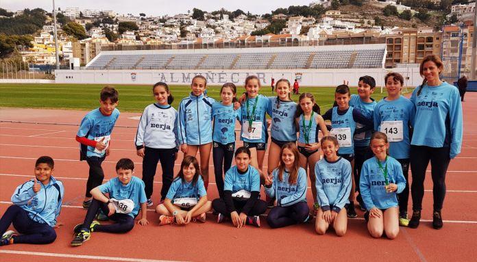 Nerja suma nueve preseas a su medallero en el Campeonato de Andalucía de Triatlón
