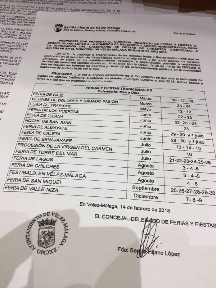 El municipio tendrá 40 días de Ferias