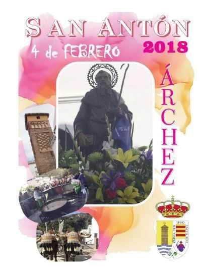Árchez celebra su el próximo domingo, 4 de febrero, su romería en honor a San Antón