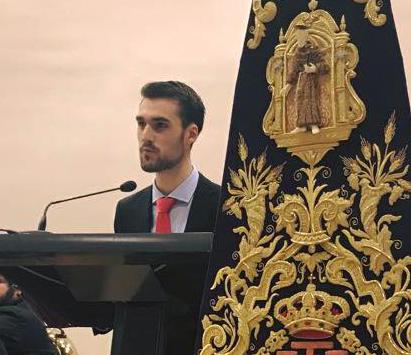 El acto tuvo como maestro de ceremonias Pablo Domínguez que lo realizó con gran soltura.