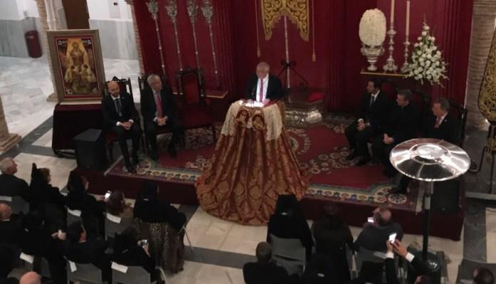 Salvador Conde 'borda' un gran pregón en el 50 aniversario de La Amargura
