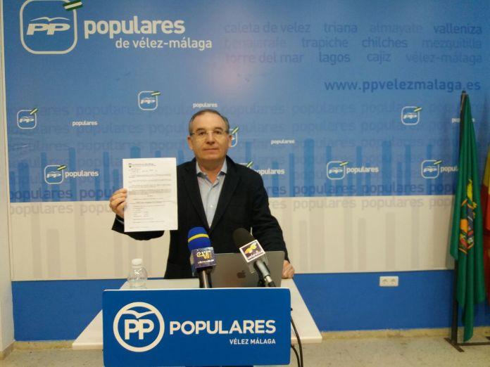 Delgado Bonilla optará a la Alcaldía veleña. Esta ha sido la primera decisión del nuevo Comité Electoral de los Populares. Junto a Delgado Bonilla, se han nombrado varios candidatos más.