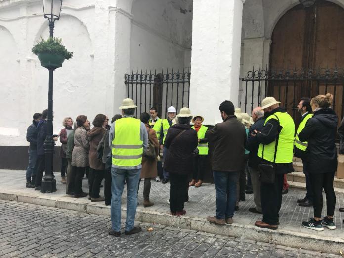 La Plataforma en Defensa de Las Claras quiere conocer el estado del convento tras el temporal