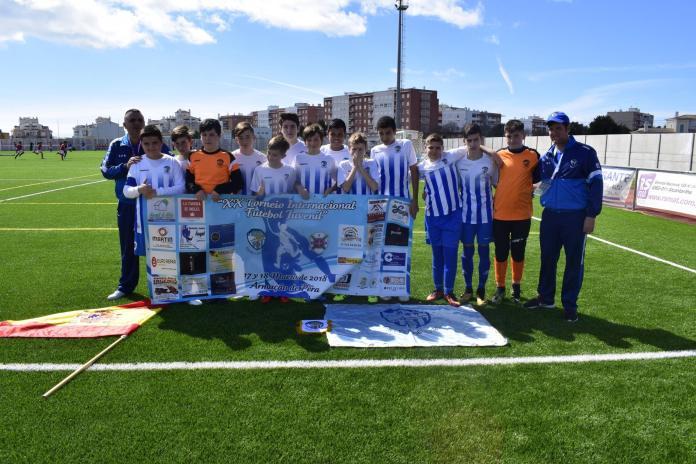 El infantil del CD Nerja, segundo en el Torneo Internacional de Portugal