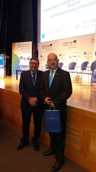 Vélez-Málaga participa en las Jornadas Profesionales del proyecto europeo Mitomed+