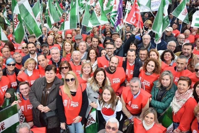 El PSOE seguirá manifestándose con los pensionistas por una subida real y justa de todas las pensiones