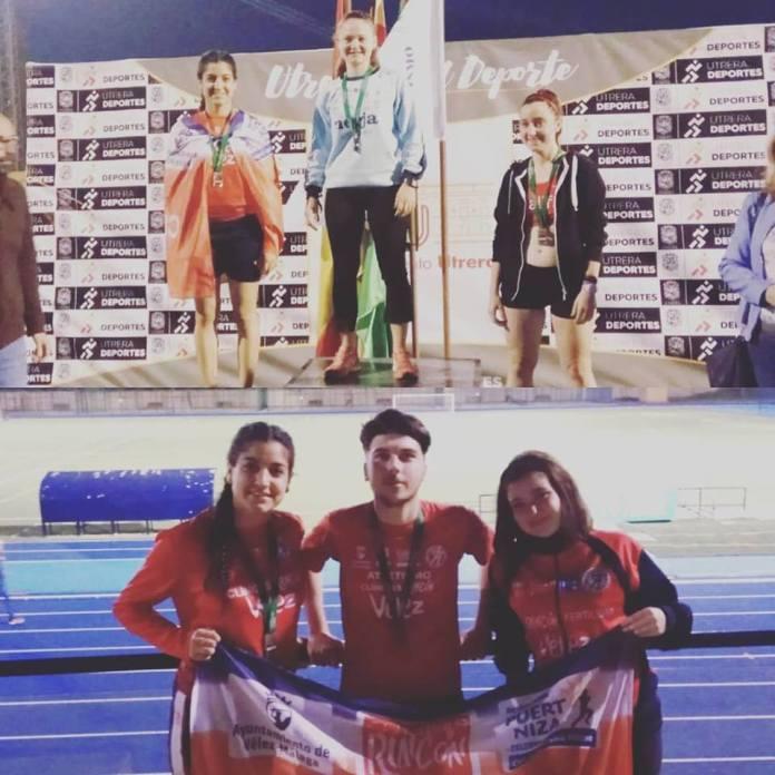 Buenos resultados para el Club Atletismo Vélez en el Campeonato de Andalucía de Marcha en Pista