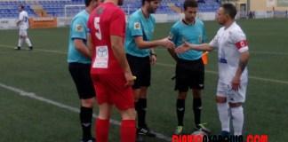 Sin nada en juego, el Vélez Club de Fútbol recibía este domingo a un Motril que se jugaba la vida en el Vivar Téllez. / José Luis Castro.