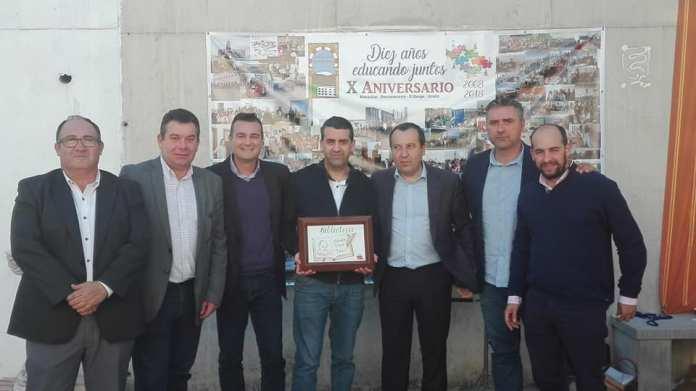 El Instituto 'La Maroma' de Benamocarra recuerda al alcalde Pepe Díaz