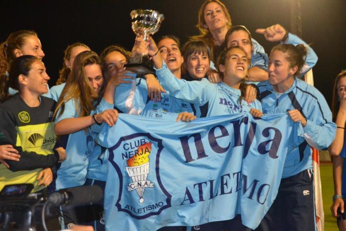 El atletismo nerjeño se corona como el mejor de Andalucía
