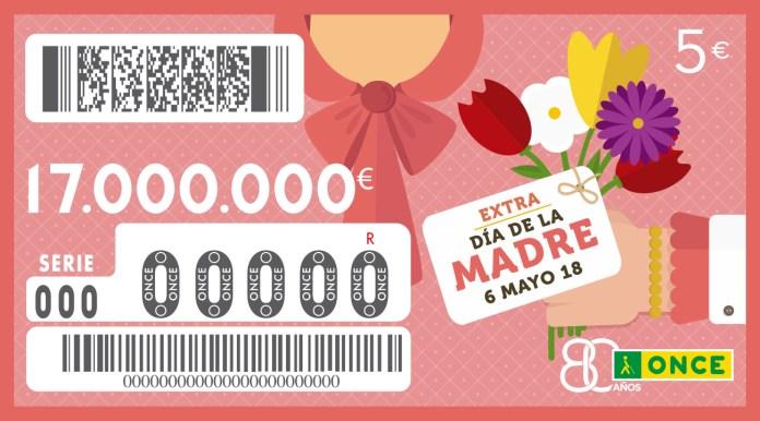 """Un vecino de Villabona (Gipuzkoa) gana los 17 millones de euros del  """"Extra"""" del Día de la Madre de la ONCE"""