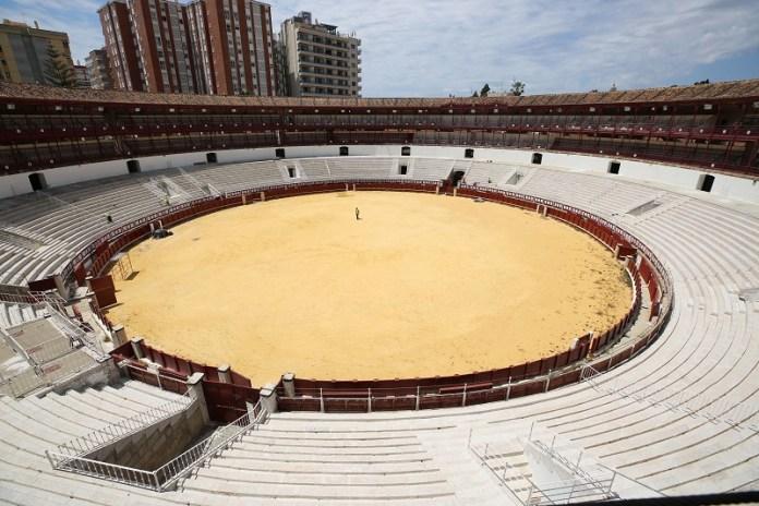 La Diputación adjudica por 4,4 millones de euros las obras para rehabilitar y dar uso cultural a la plaza de toros de La Malagueta