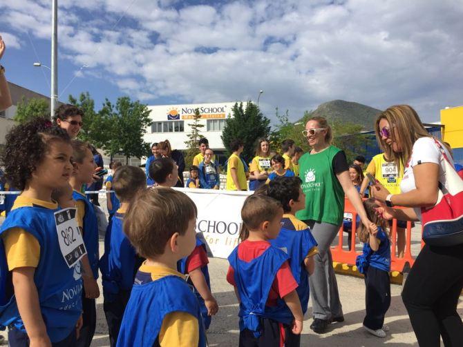 Novaschool corre contra el hambre
