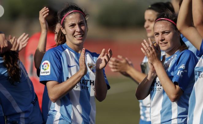 Fin de semana histórico para el Málaga Club de Fútbol. El filial logró ascender a Segunda División B y el primer equipo femenino subir a la Liga Iberdrola.
