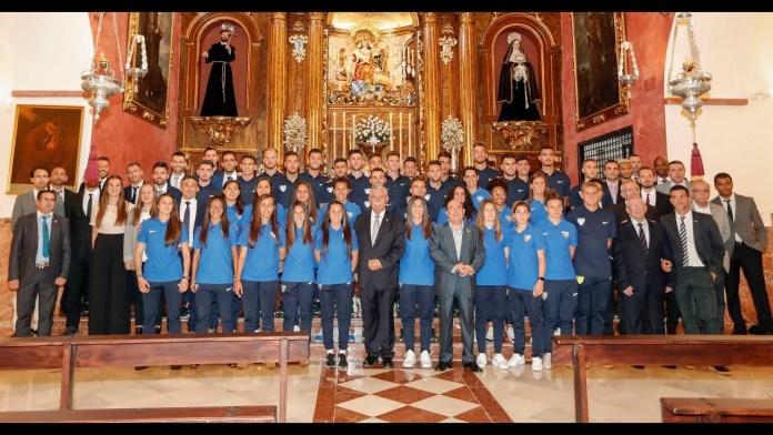 El Atlético Malagueño y el Málaga CF Femenino visitan a la Divina Pastora