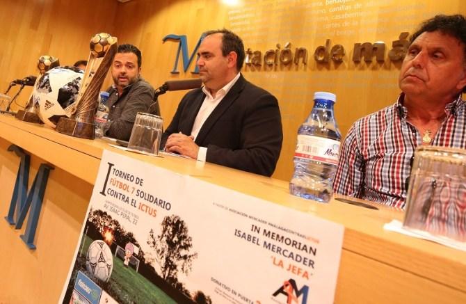 La Asociación Mercader celebra su 'I Torneo de fútbol 7 solidario contra el ICTUS' en colaboración con la Diputación