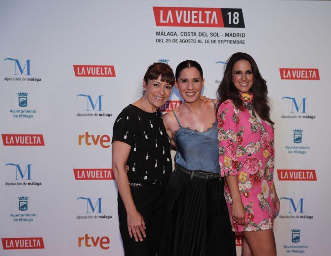 La Vuelta presenta el spot de la sintonía oficial rodado en la provincia de Málaga, salida oficial