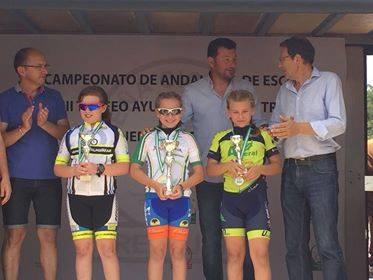 Irene vive en Caleta de Vélez y ha participado en la categoria principiante femenino 2km.