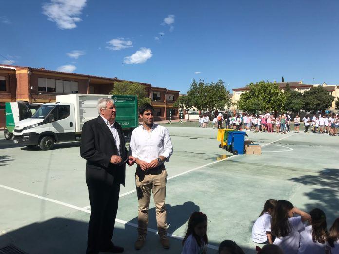 Más de 700 escolares participan en las actividades por el Día Mundial del Medio Ambiente en Vélez-Málaga