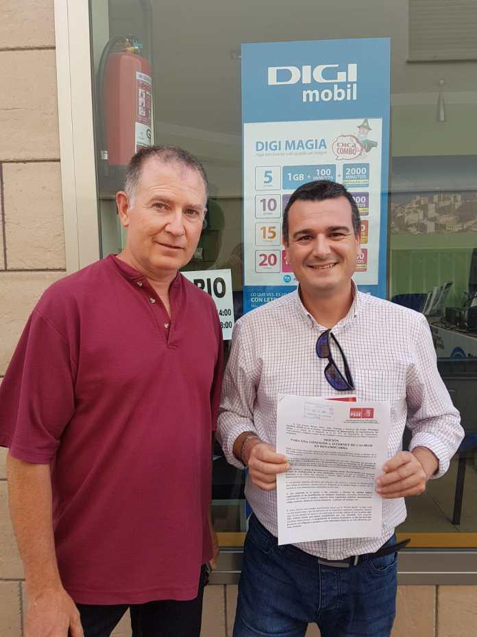 E Portavoz del Grupo Municipal Socialista en el Ayuntamiento de Benamocarra, José Antonio Moreno Téllez, ha presentado una Moción en el Ayuntamiento para que en el próximo Pleno se debata y apruebe por todos los grupos políticos del pueblo.