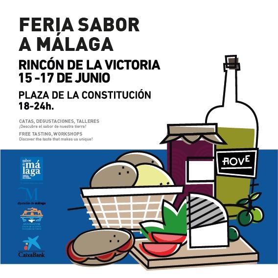 La segunda feria comarcal 'Sabor a Málaga' del año se celebrará en Rincón de la Victoria del 15 al 17 de junio