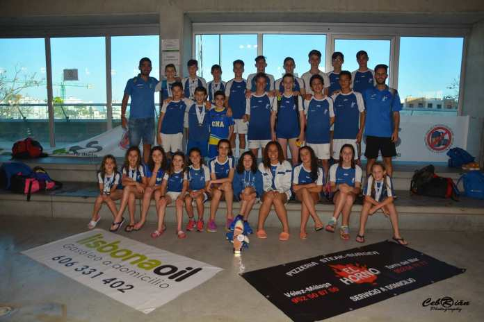 Foto: Club Natación Axarquía / Cebrián Photografias.