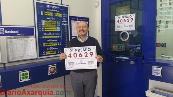 El primer premio de 300.000 euros de la Lotería Nacional cae en Vélez-Málaga