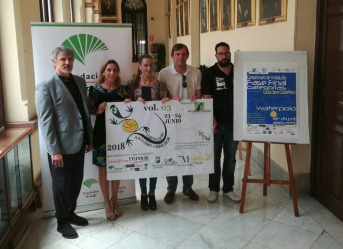 Medio millar de deportistas se darán cita en Málaga para disputar siete torneos de waterpolo