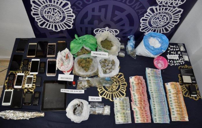 La Policía Nacional desarticula una organización criminal dedicada al tráfico de drogas en zonas de ocio de Benalmádena