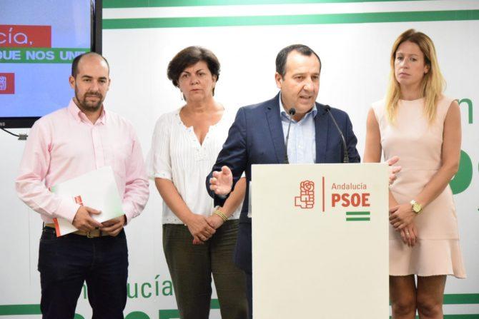 Ruiz Espejo destaca que los avances sociales que el PSOE impulsa en el Gobierno y en la Junta de Andalucía repercuten en una Málaga más próspera