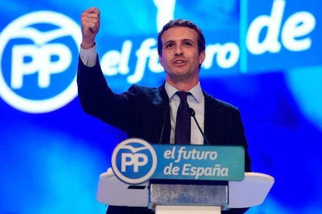 Pablo Casado se convierte en el nuevo presidente del PP