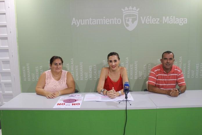 El Ayuntamiento de Vélez-Málaga instala un punto en el Weekend Beach Festival para informar sobre las agresiones sexuales
