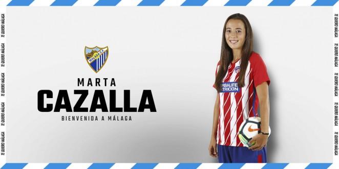 Marta Cazalla, refuerzo defensivo para la Primera División delMálaga CF Femenino