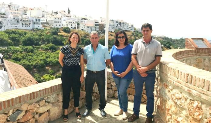 El PP exige a Susana Díaz que agilice la gestión para declarar a Frigiliana municipio turístico