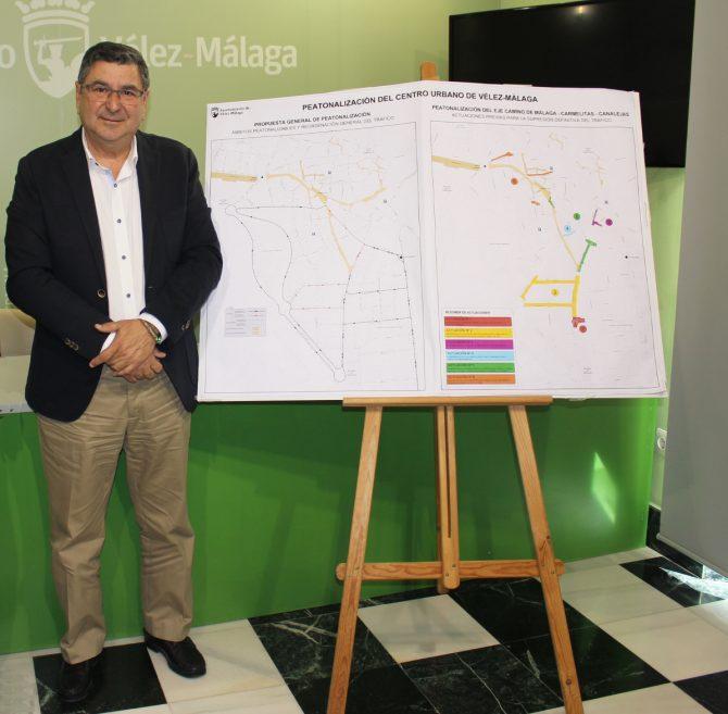 Moreno Ferrer da luz verde al inicio de las obras de la peatonalización del centro de Vélez
