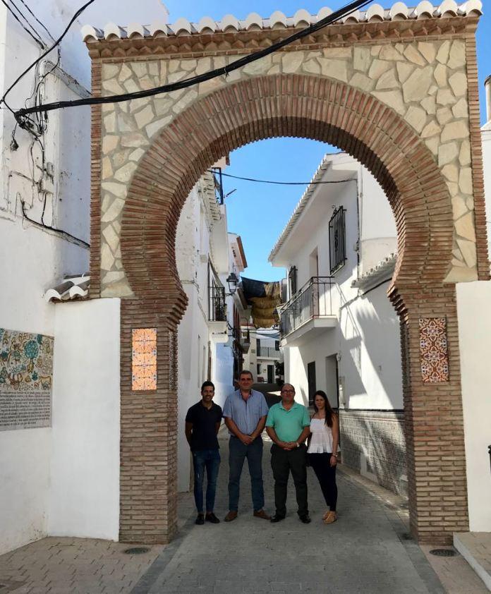 Los servicios técnicos de la Mancomunidad de Municipios de la Costa del Sol Axarquía trabajan en más de una decena de proyectos en Sedella