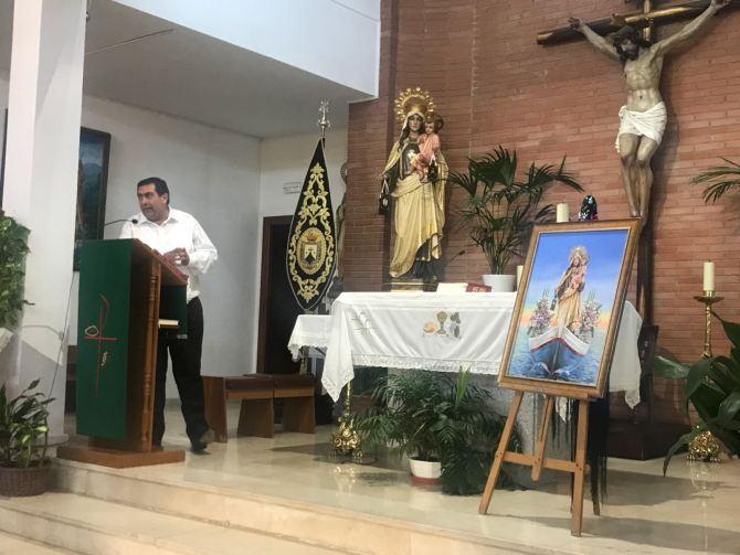 Presentado el XIV cartel anunciador de Nuestra Señora del Carmen de Almayate